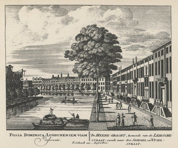 Amsterdam: the Herrengracht and canal