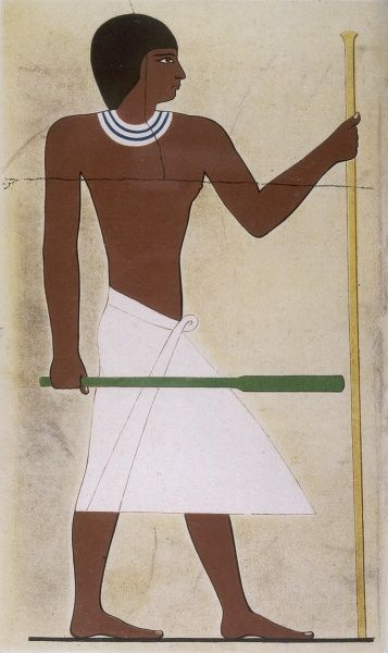 Prince Mourhet, from his tomb at Giza