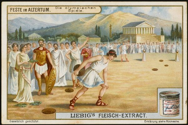 The Olympic Games were staged at Olympia, Greece, from 776 BCE till 340 CE, when they ceased until revived in 1896 by Pierre, baron Coubertin