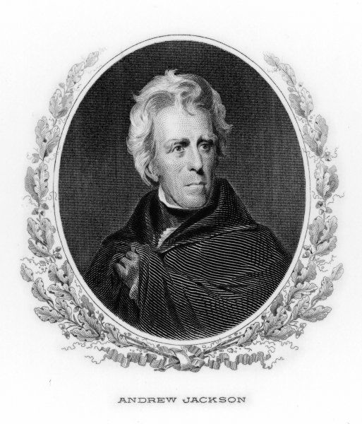 ANDREW JACKSON 7th American President