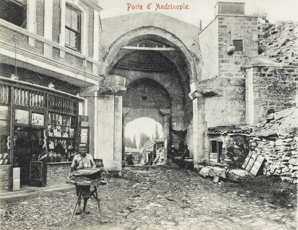 The Andrinople Gate - Constantinople, Turkey