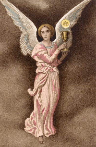 THE ANGEL OF THE COMMUNION Date