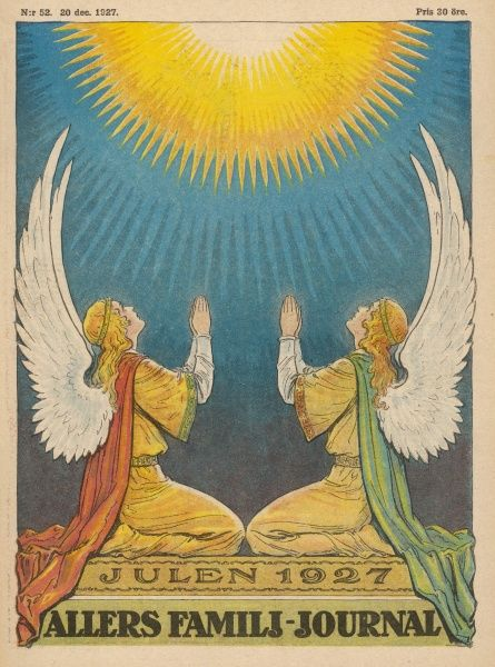 Two angels hail the Celestial Light