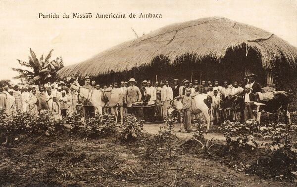 Angola - A section of the American Mission to Ambaca