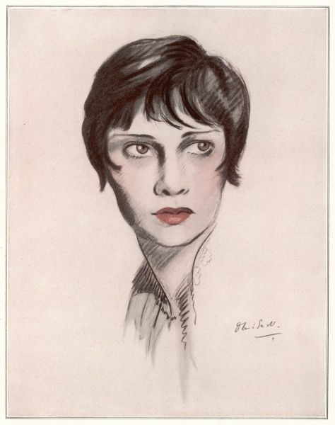 "Portrait of Anita Loos (1888 - 1981), American screenwriter, journalist, novelist and producer, most famous for writing the novel on which the film ""Gentlemen Prefer Blondes"" was based"