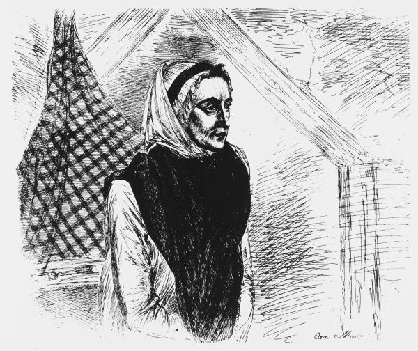 ANN MORE, of Tutbury, Staffs., claimed she never ate and charged visitors to see her. An 1808 investigation upheld her claims, but a later one in 1813 established fraud