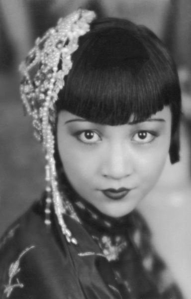 Anna May Wong (1905 - 1961), Chinese American film and theatre actress
