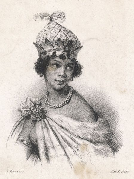 Anna Nzinga, also known as Ana de Souso Nzinga Mbande, 17th century queen of the Ndongo and Matamba kingdoms of the Mbundu people in south western Africa