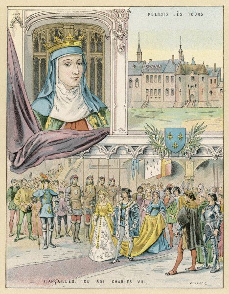 ANNE DE BEAUJEU (or DE FRANCE) daughter of Louis XI, regent during the minority of her brother Charles VIII, ruling firmly, bravely and wisely