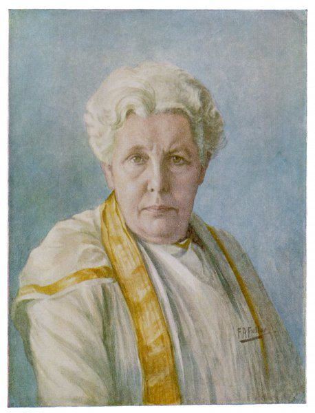 ANNIE BESANT English theosophist and Indian political leader - portrait