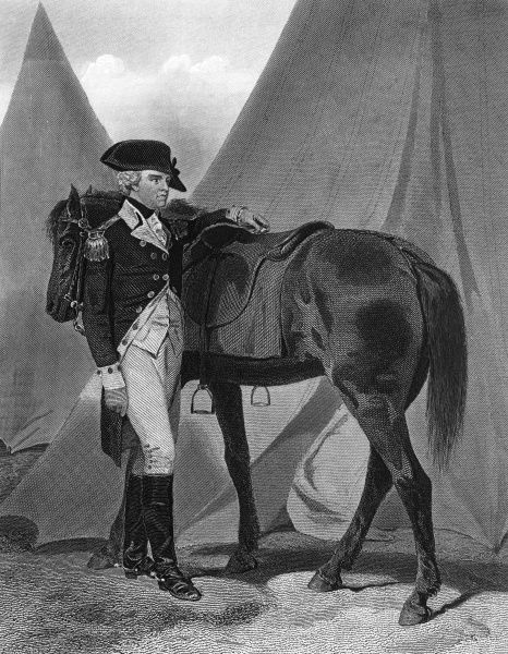 ANTHONY WAYNE American Revolutionary officer, appointed major general by President Washington in 1792. Date: 1745 - 1796