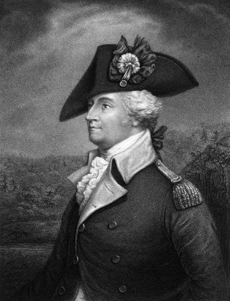 ANTHONY WAYNE American Revolutionary officer. Known as 'Mad Anthony' for his ruthless tactics. Date: 1745 - 1796