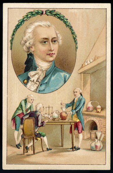 ANTOINE-LAURENT LAVOISIER French chemist
