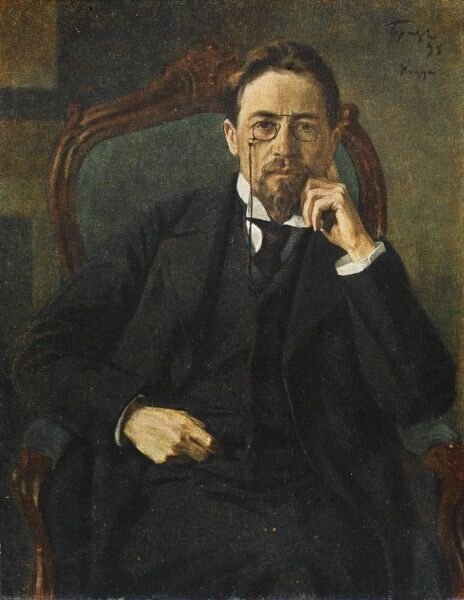 Anton Pavlovich Chekhov (1860 - 1904), Russian writer of short stories and plays. He was also a physician