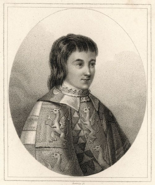 ANTONY WOODVILLE 2ND EARL OF RIVERS A statesman in the government of Edward IV. He was beheaded without trial by Richard III