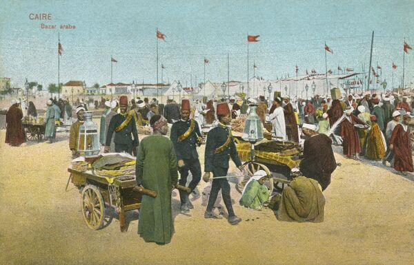 Arab Market in Cairo, Egypt