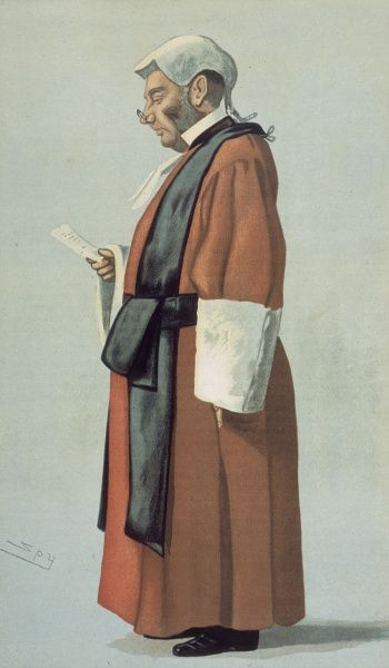 ARCHIBALD LEVIN SMITH English judge (here shown as 3rd commissioner in the case between the Times and Charles Stewart Parnell & other Irish nationalists in 1888)