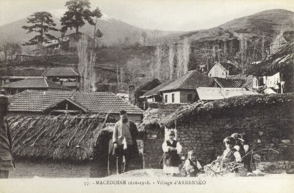 The Village of Armensko (formerly Alonas) Macedonia Date: circa 1910s