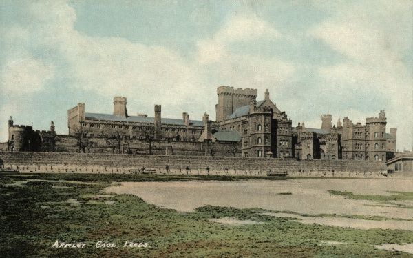 A general view of Armley Gaol, Leeds, West Yorkshire. The prison was opened in 1847