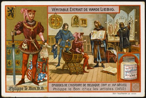 Flemish artists are encouraged by the patronage of Philippe III, le Bon, duc de Bourgogne