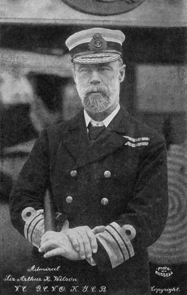 Sir ARTHUR KNYVET WILSON V.C. Distinguished British naval commander who won his VC at the battle of El Teb. Date: 1842 - 1921