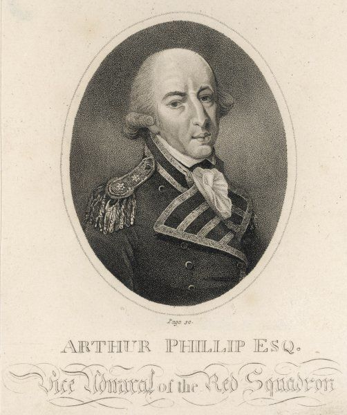 Arthur Phillip (1738 - 1814), Naval commander and founder of New South Wales