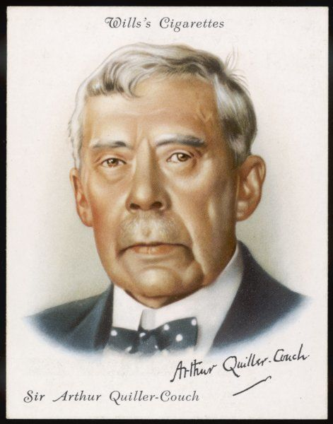 SIR ARTHUR QUILLER-COUCH pen name: Q English man of letters in 1936