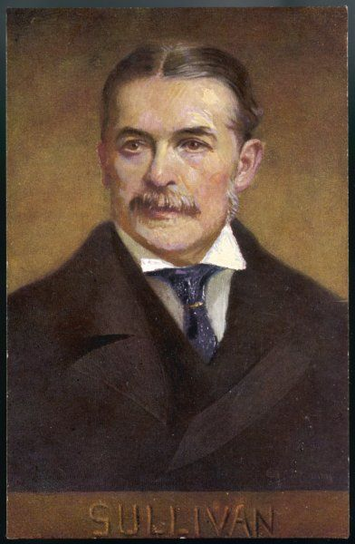 SIR ARTHUR SULLIVAN English composer Collaborated with Gilbert