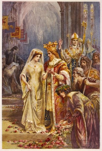 The marriage of Arthur and Guinevere