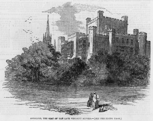 Ashridge House, Buckinghamshire, the seat of viscount Alford