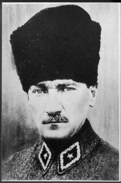 (MUSTAPHA) KEMAL ATATURK Soldier, reformer, and Founder of the Turkish State