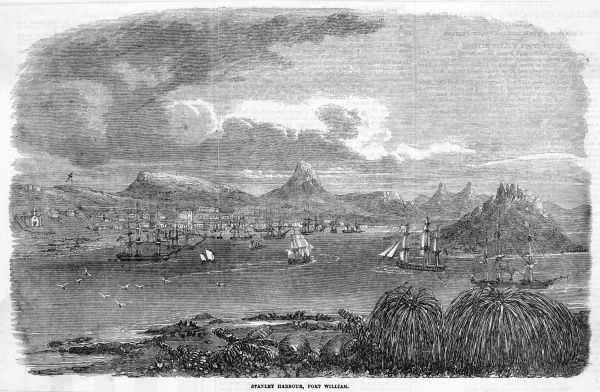 View of Stanley Harbour, Port William