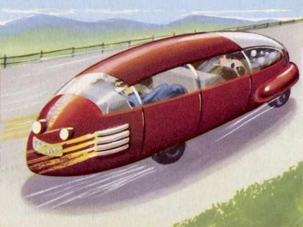 AUTOMOBILE DRIVEN BY ATOMIC POWER