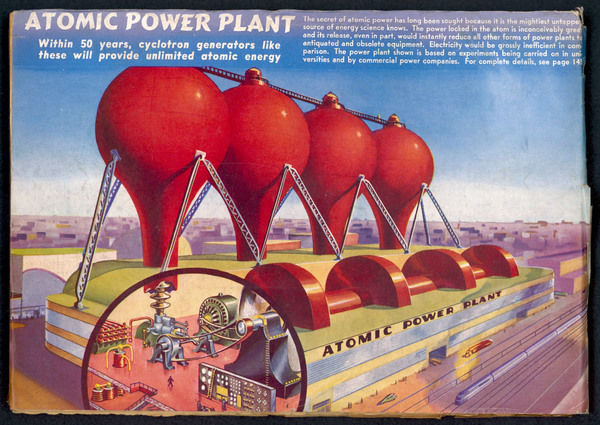 Atomic power plants predicted