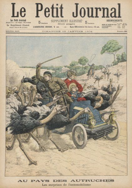 General Brump and his family are motoring in California when, to their surprise, their car is attacked by ostriches