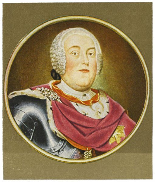 AUGUST III King of Poland and FRIEDRICH AUGUST II Elector of Sachsen