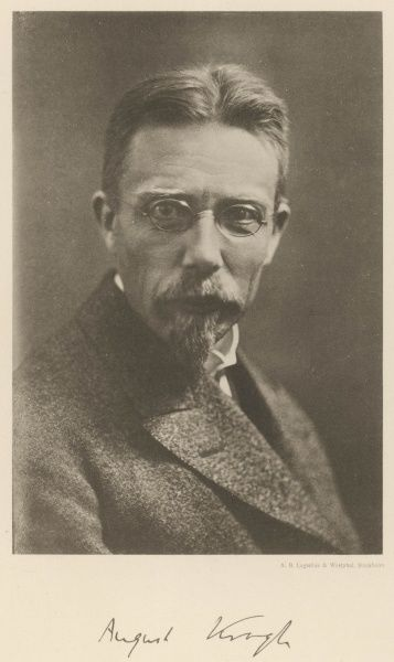 AUGUST KROGH Danish physiologist Date: 1874 - 1949