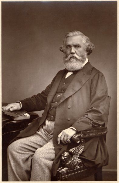 Austen Henry Layard (1817 - 1894), Archaeologist and diplomat