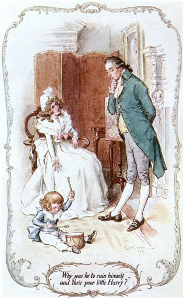 Mrs. John Dashwood & her family. Date: First published: 1811