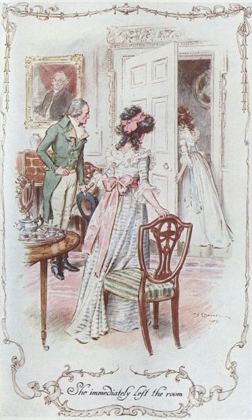 Marianne leaves Elinor & Colonel Brandon. Date: First published: 1811