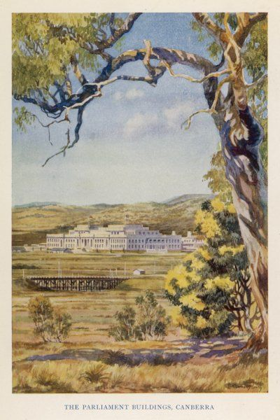 Canberra - the Parliament Buildings