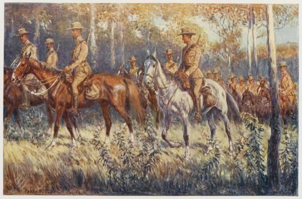 Citizen soldiers, Australia - a cavalry force in the bush