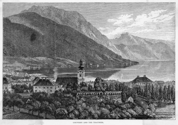 Gmunden and the Trauensee