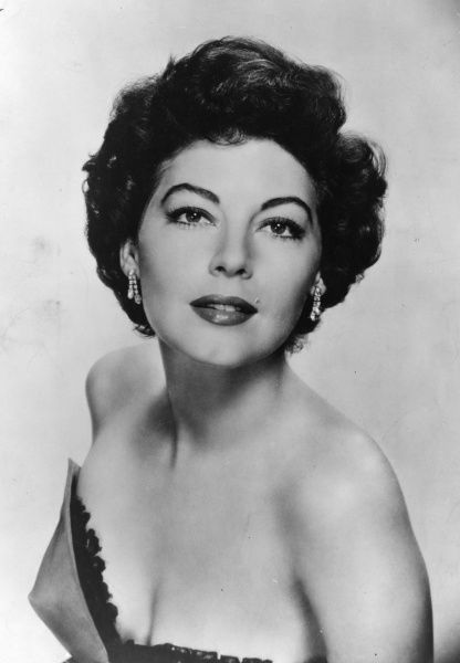 Ava Gardner (1922-1990) American actress who was married to Mickey Rooney, Artie Shaw and Frank Sinatra