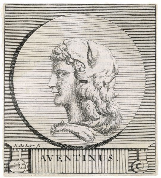 AVENTINUS SILVIUS 12th King of Alba Longa. This kingdom preceded the arrival of Romulus and Remus at Rome