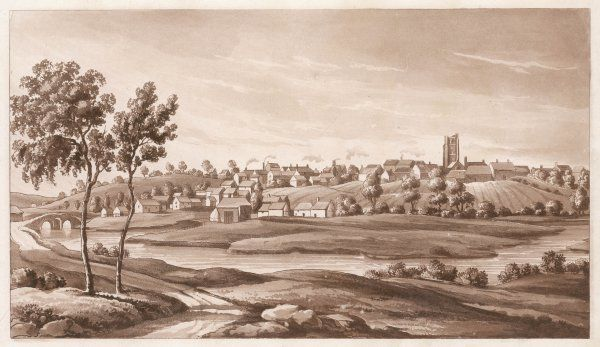 Axminster, Devon, famous for its carpetmaking