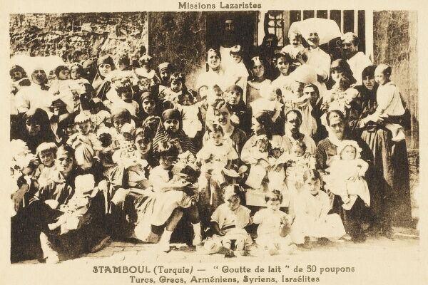 The Taste of Milk - 50 babies in Istanbul at the Lazarist Mission, who are Turkish, Greek, Armenian, Syrian and Israeli!