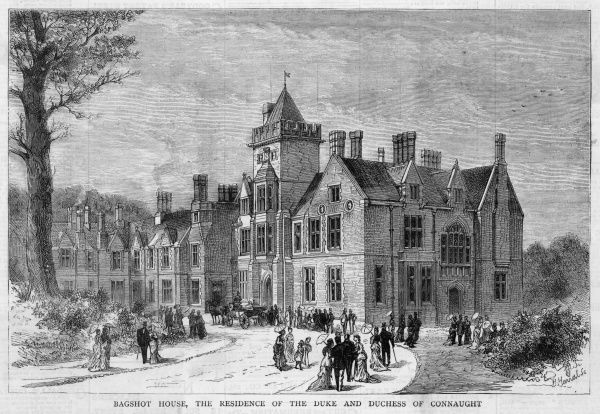 Bagshot House, Surrey, the residence of the duke & duchess of Connaught