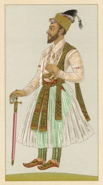 BAHADUR SHAH I (also known as Shah Alam) Mughal emperor of India, 1707 - 1712