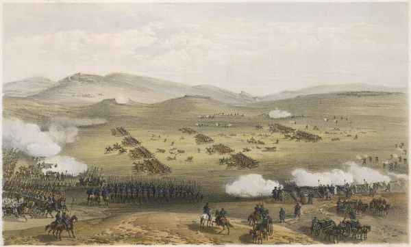 The Charge of the Light Brigade - a bird's eye view of the action